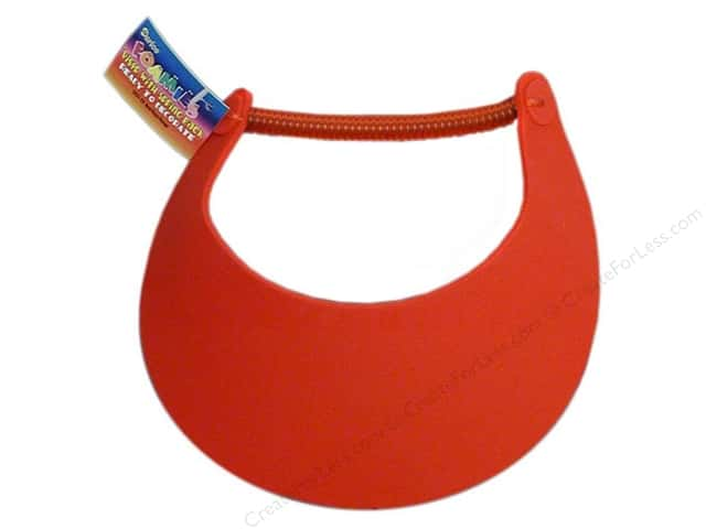 Darice Foamies Visor Red (3 pieces)