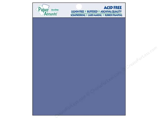 Cardstock 8 x 8 in. #111 Smooth Cobalt by Paper Accents 25 pc.
