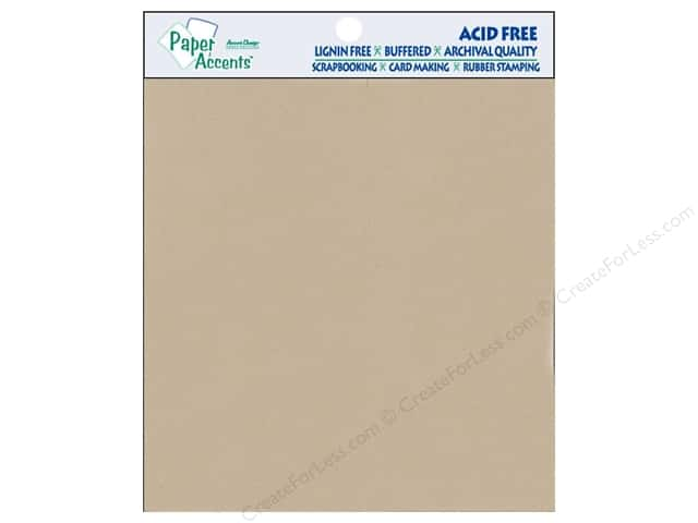 Cardstock 8 x 8 in. #304 Recycled Kraft by Paper Accents 15 pc.