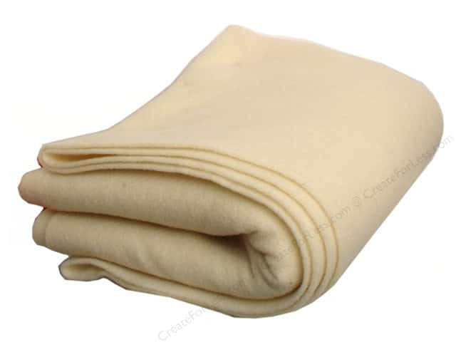 "National NonWoven WoolFelt 100% Virgin Wool 36""x 2 yd Natural (2 yards)"