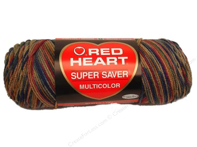 Red Heart Super Saver Yarn #0303 Paint Desert 5 oz.