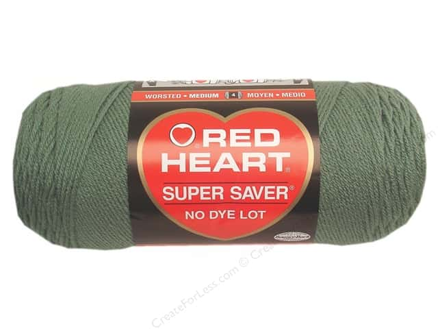 Red Heart Super Saver Yarn #0631 Light Sage 7 oz.