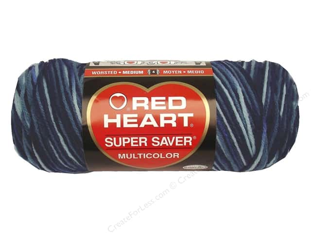 Red Heart Super Saver Yarn #0984 Shaded Dusk 5 oz.