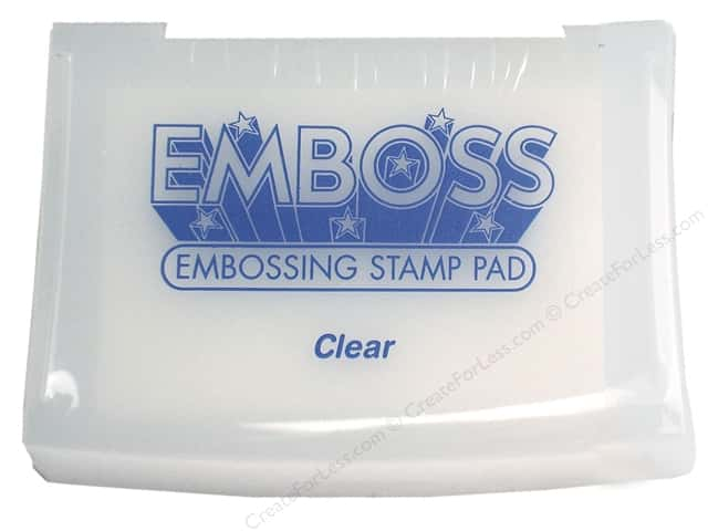 Tsukineko Emboss Embossing Stamp Pad Clear