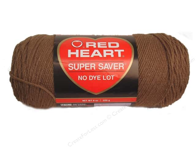 Red Heart Super Saver Yarn #0360 Cafe Latte 7 oz.