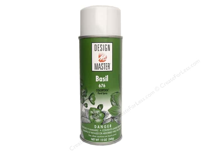 Design Master Colortool Spray Paint #676 Basil 12 oz.