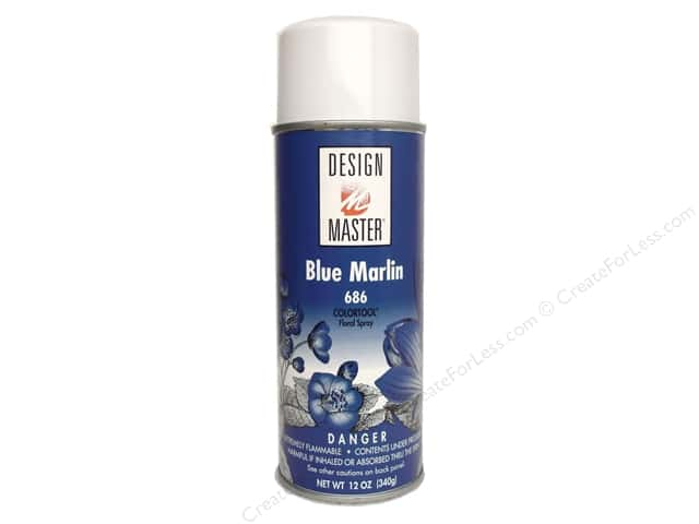 Design Master Colortool Spray Paint #686 Blue Marlin 12 oz.