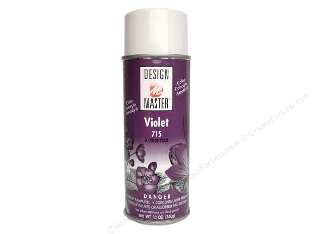 Design Master Colortool Paint Violet 12oz