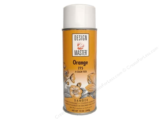 Design Master Colortool Paint Orange 12oz