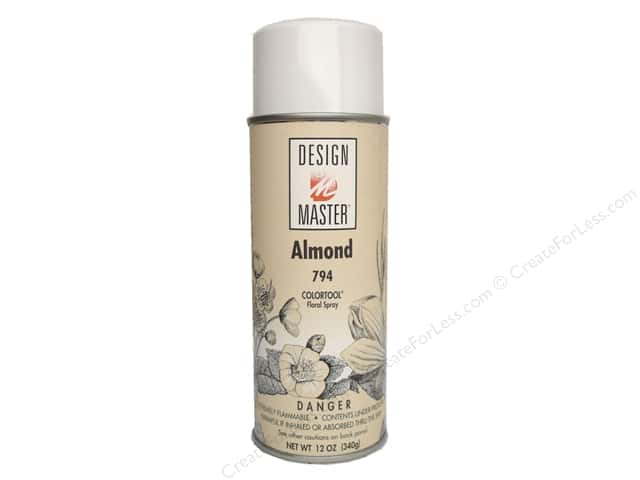 Design Master Colortool Spray Paint #794 Almond 12 oz.