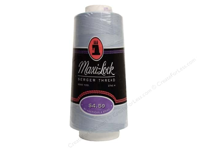 Maxi-Lock Serger Thread 3000 yd Blue Mist