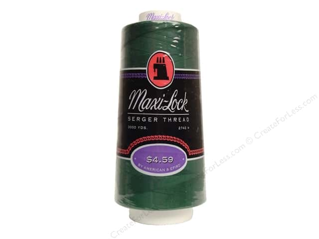 Maxi-Lock Serger Thread 3000 yd Churchill Grn