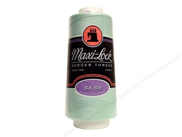 Maxi-Lock Serger Thread 3000 yd Mint Green