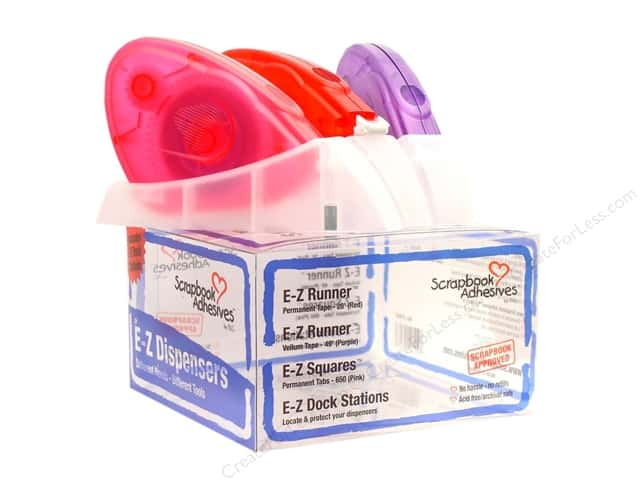 3L Scrapbook Adhesives E-Z Dispenser Kit 3 in 1