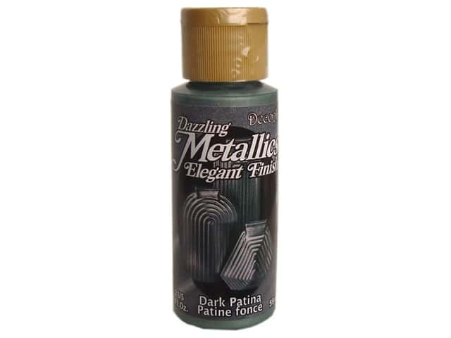 DecoArt Dazzling Metallics Paint 2oz Dark Patina