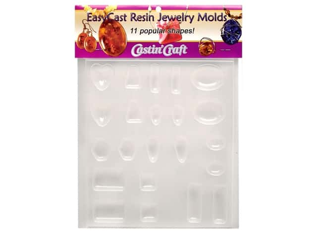 Castin'Craft Reuseable Molds Jewelry 11 Shapes