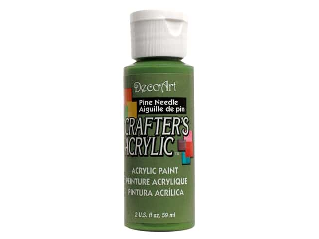 DecoArt Crafter's Acrylic Paint 2 oz. #86 Pine Needle