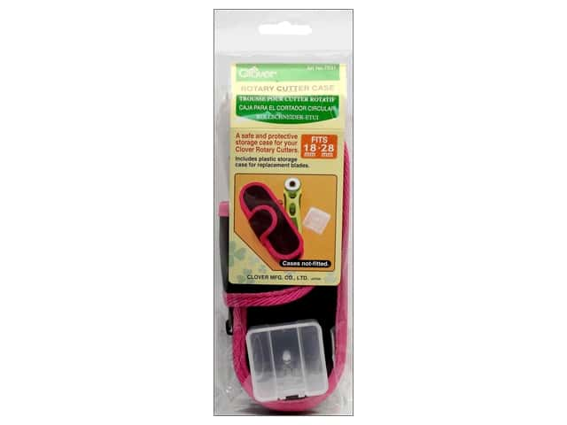 Clover Rotary Cutter Case 18mm & 28mm Pink