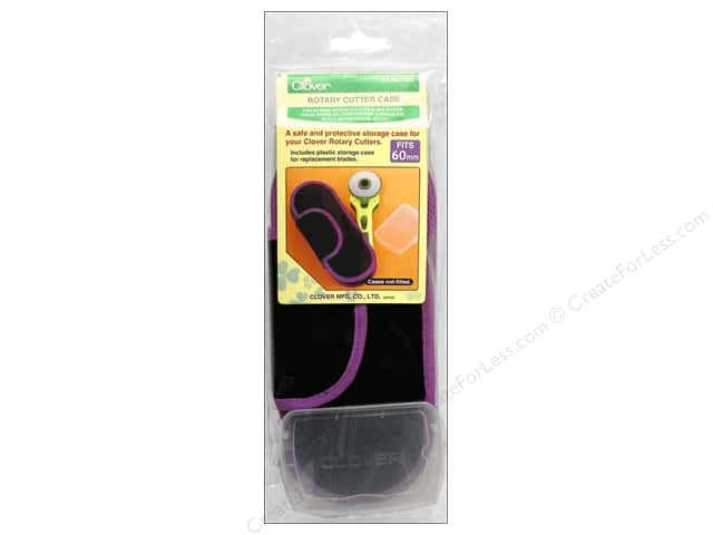 Clover Case Rotary Cutter 60mm Purple