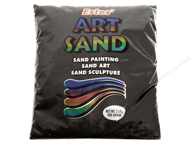 Estes Art Sand 2 lb Bag Black