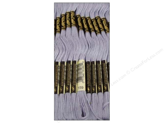 DMC Six-Strand Embroidery Floss #159 Light Grey Blue (12 skeins)