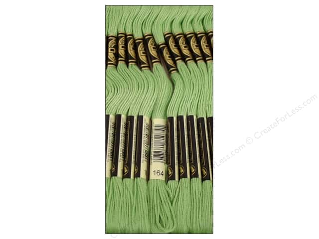 DMC Six-Strand Embroidery Floss #164 Light Forest Green (12 skeins)