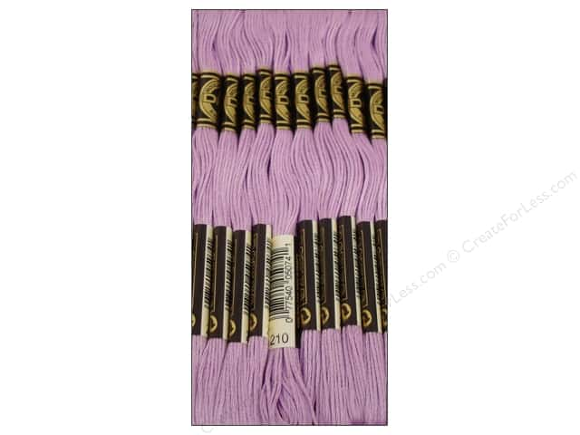 DMC Six-Strand Embroidery Floss #210 Medium Lavender (12 skeins)