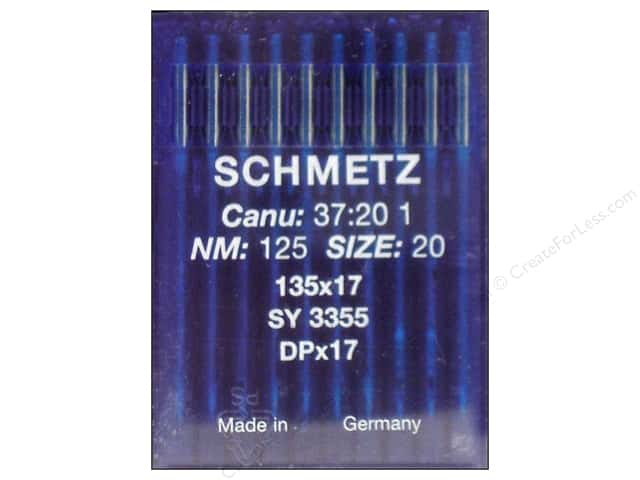 Schmetz Long Arm Industrial Needle Size 20 10 pc