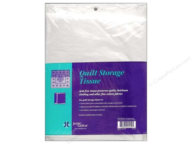 "June Tailor Quilt Storage Tissue 20""x 30"" 20pc"