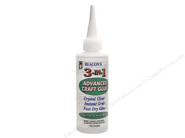 Beacon 3-In-1 Advanced Craft Glue 4 oz.
