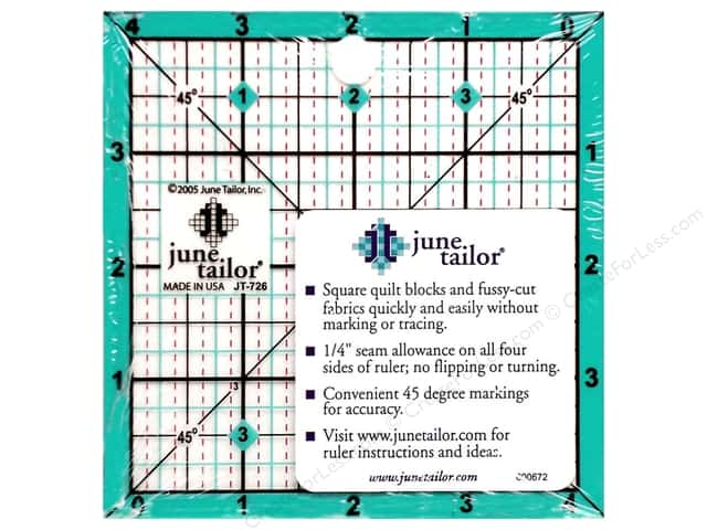 June Tailor Ruler Square 4.5""