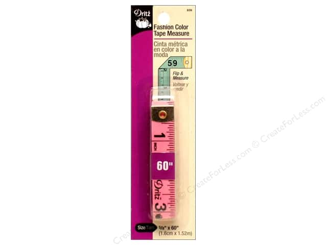 Tape Measure by Dritz Fashion Color 60 in.
