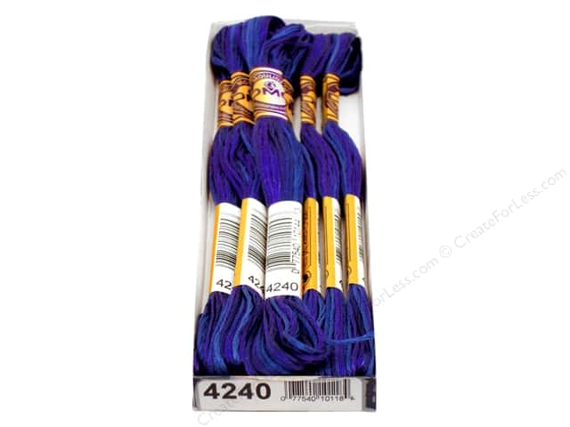 DMC Color Variations Floss 8.7 yd. #4240 Mid Summer Night (6 skeins)