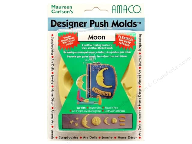 AMACO Designer Push Mold Moon