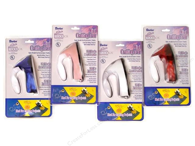 Darice Mini Crafting Iron Assorted Colors