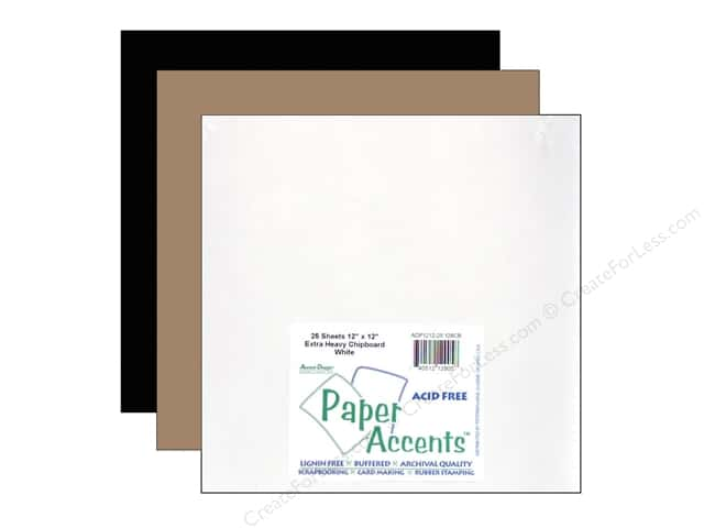 Paper Accents Chipboard Extra Heavy