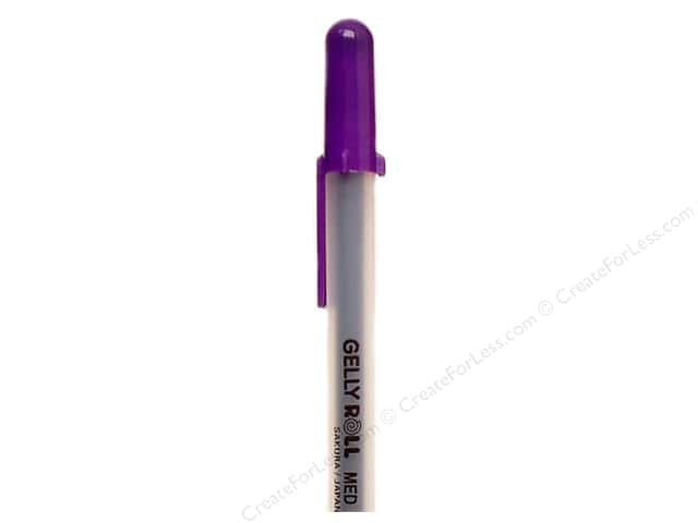 Sakura Gelly Roll Pen Gel Ink Bulk Medium Point Purple (3 pieces)