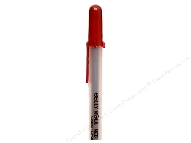Sakura Gelly Roll Pen Gel Ink Bulk Medium Point Burgundy (3 pieces)