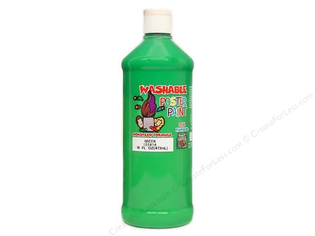 Palmer Washable Poster Paint 16oz Green