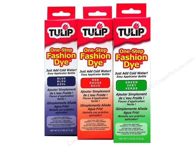 tulip one step dye instructions