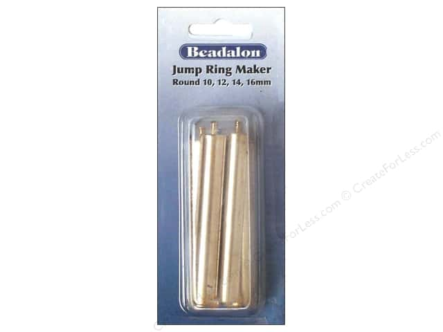Beadalon Tools Jump Ring Maker Sizes 10, 12, 14, 16mm