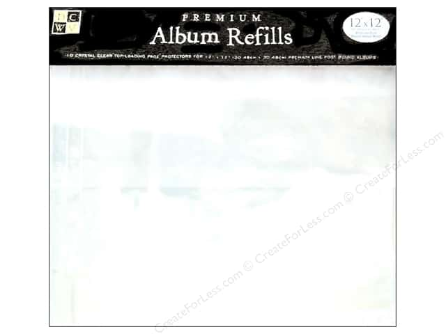 "DieCuts Album Refill 12""x 12"" 10pc"