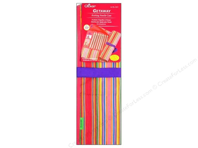 "Clover Case Getaway Knitting Needle 14"" Single Point"