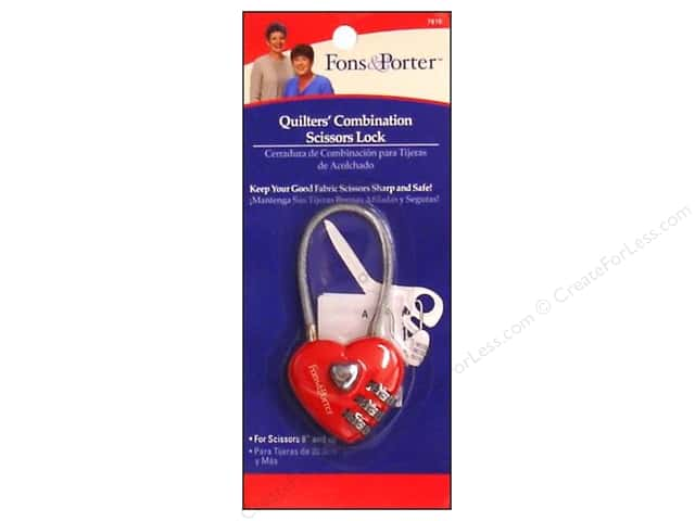 "Fons & Porter Notions Scissor Safety Lock 8"" Up"