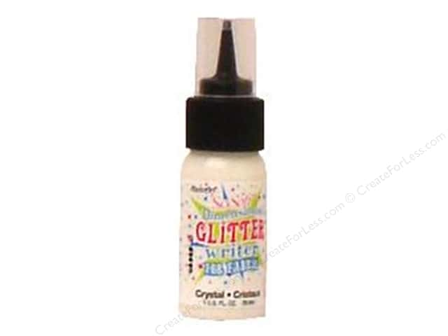 DecoArt SoSoft Fabric Paint Dimensional 1 oz. Glitter Crystal