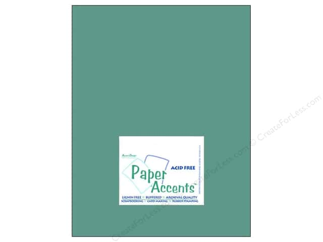 Cardstock 8 1/2 x 11 in. #8036 Muslin Blue Oasis by Paper Accents (25 sheets)
