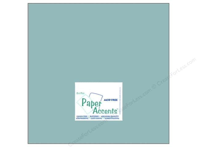 Cardstock 12 x 12 in. #8042 Muslin Evening Surf by Paper Accents (25 sheets)