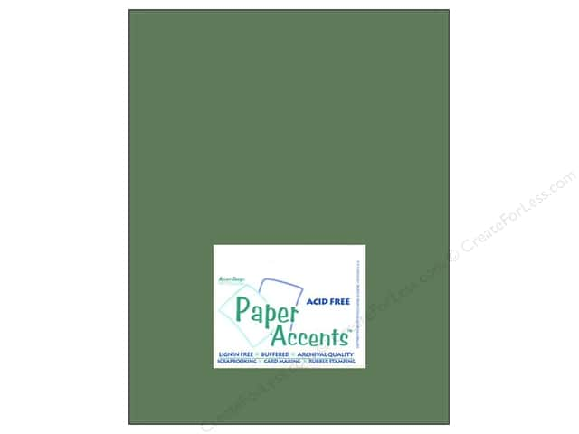 Cardstock 8 1/2 x 11 in. #8028 Muslin Pine Needle by Paper Accents (25 sheets)