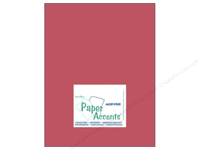 Cardstock 8 1/2 x 11 in. #8059 Muslin Brandywine by Paper Accents (25 sheets)