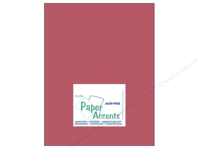 Cardstock 8 1/2 x 11 in. #8060 Muslin Brocade by Paper Accents (25 sheets)